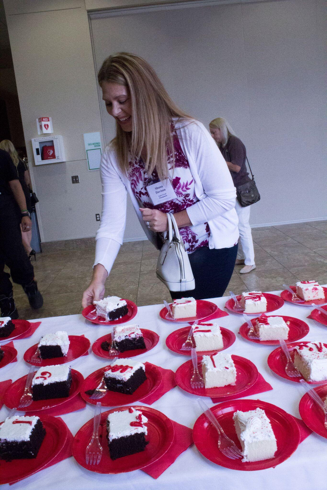 Showcase - 20th Anniversary Cake
